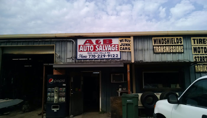 B And B Auto >> A B Auto Salvage Inc Griffin Ga